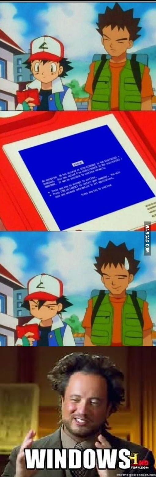 Windows Pokedex