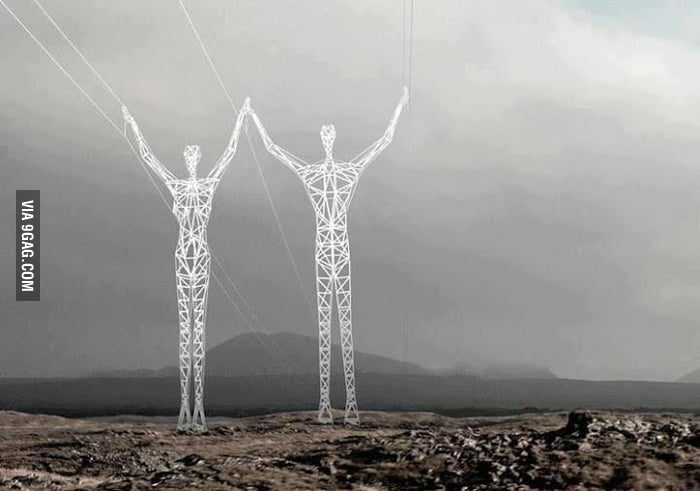 Mean while in japan : electrical towers