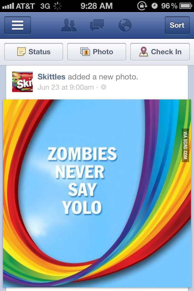 Well skittles certainly seems to understand internet marketi