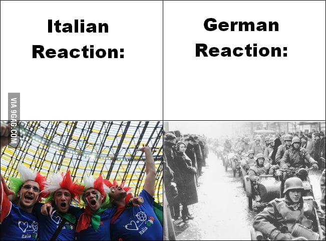 So Italy won...