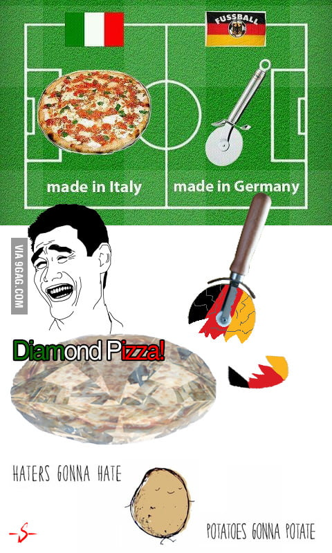 Ops, Diamond Pizza!