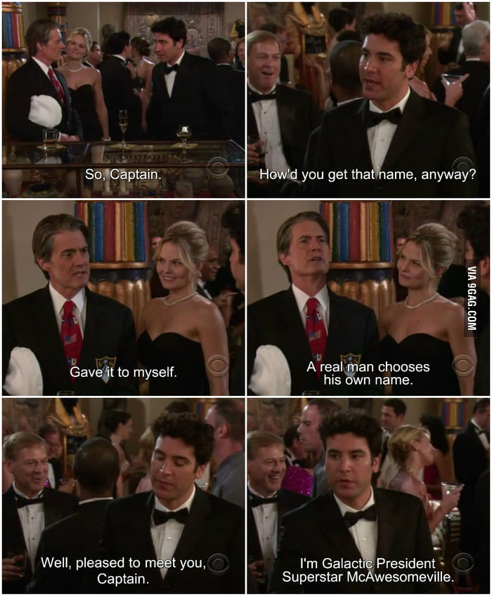 Just Ted Being Awesome