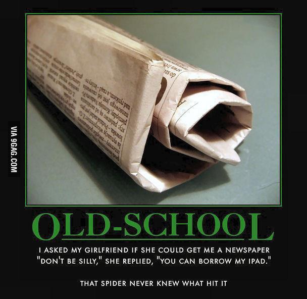 Old School!!