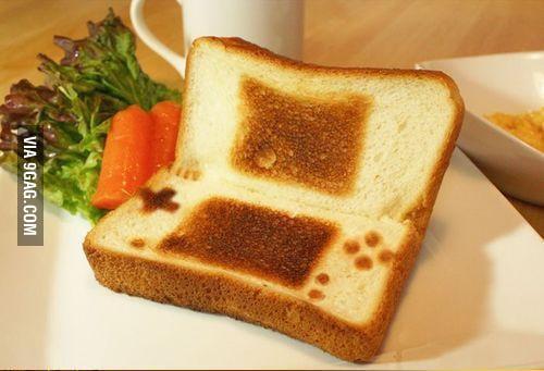 Nintendo Toast