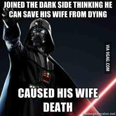 Just Darth Vader