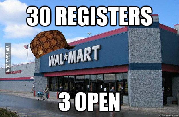Scumbag Walmart