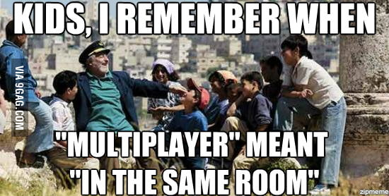 """Old man from the 90's on today's """"gaming"""""""
