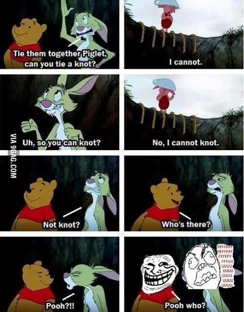 Trolling Pooh!