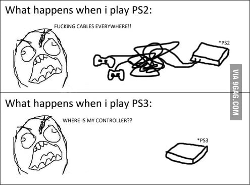 Difference between ps2 and ps3!