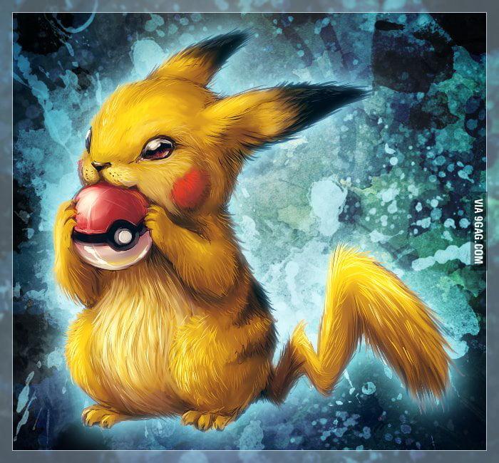 Justa an amzing drawing of pikachu