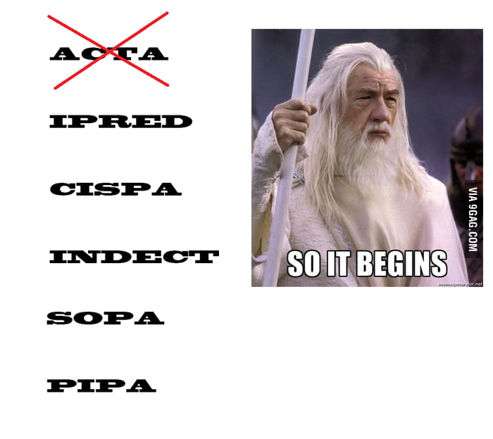 ACTA is dead