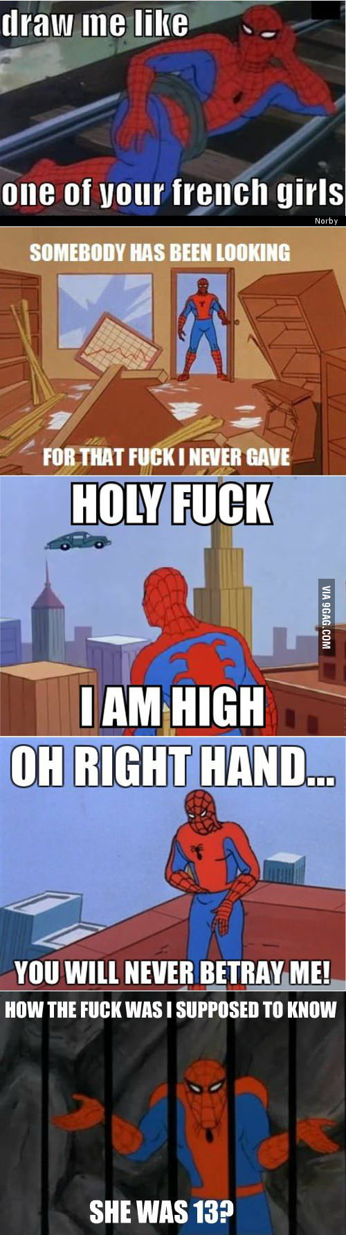 Just Spidey, who else