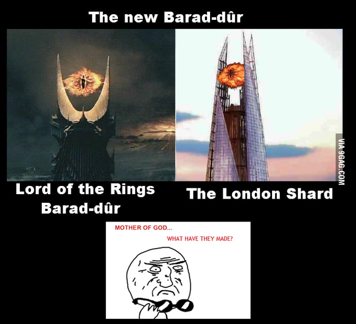 The new Barad-dûr