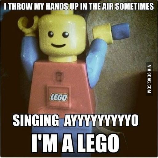 LegoMan knows how to party