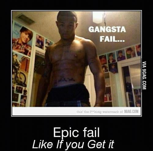 Gangsta Fail...