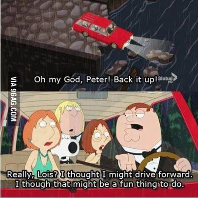 Sarcastic Peter