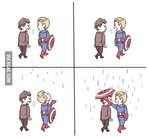 Tony n Steve <3
