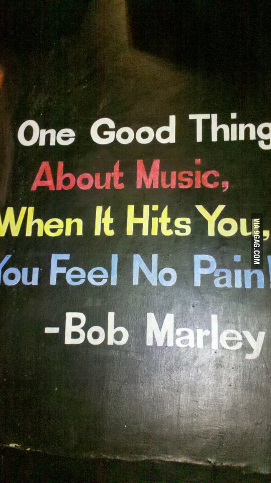 Music never Hurts