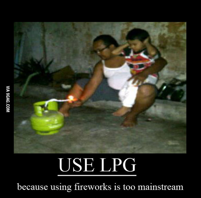 Use LPG (Liquefied Petroleum Gas)