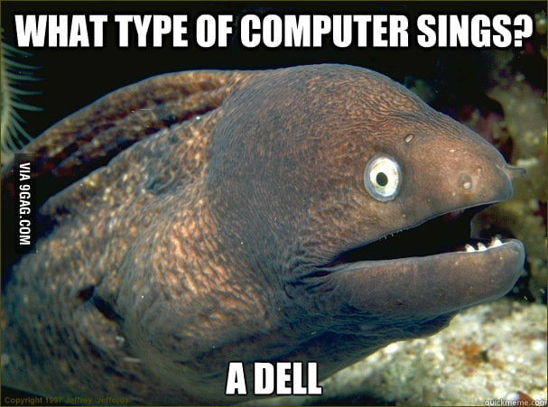 Bad Joke Eel strikes again