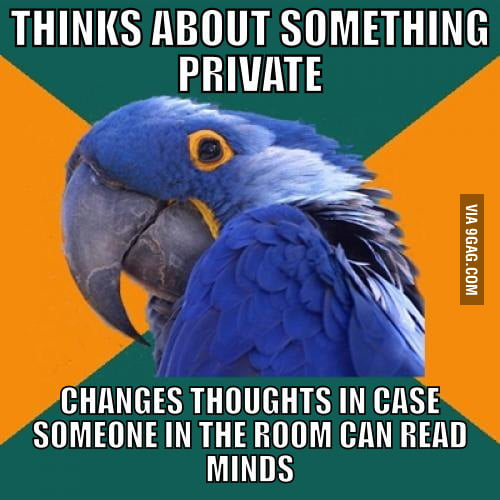 Paranoid Parrot's Thoughts