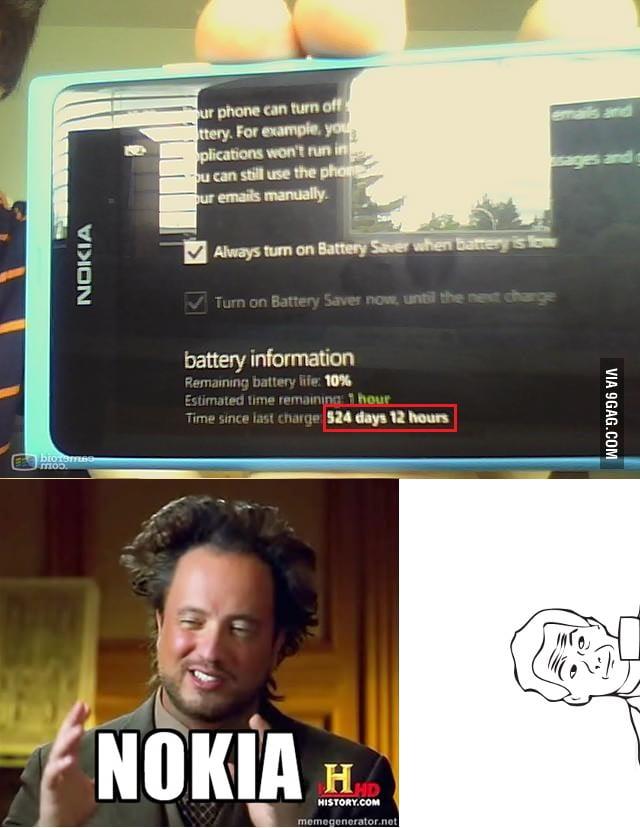 Just Nokia...