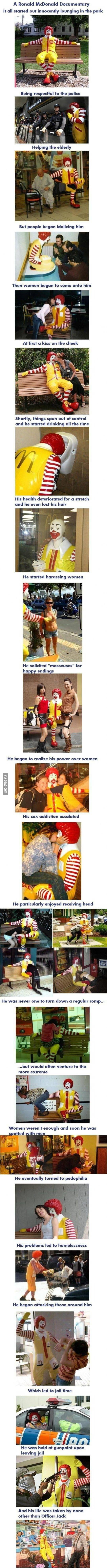 A Ronald McDonald documentary