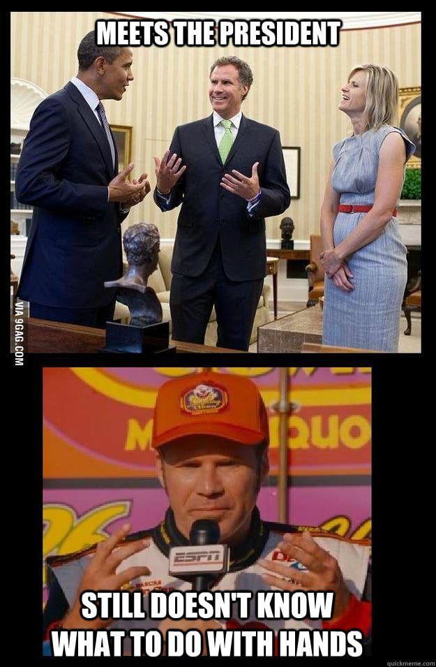 Will Ferrell what a guy!