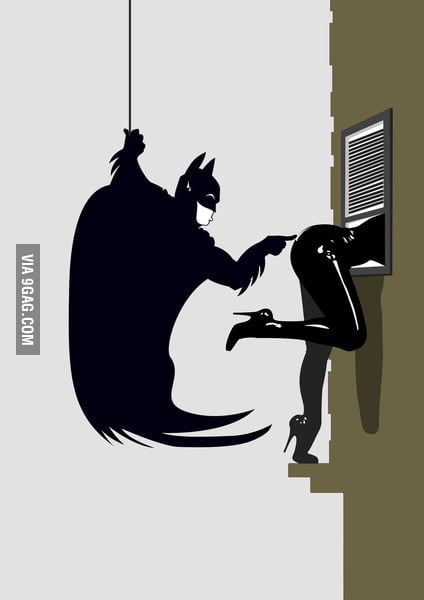 Batman meets Catwoman