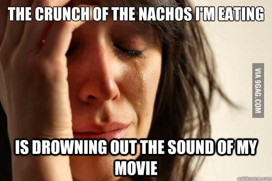 The crunchy nachos