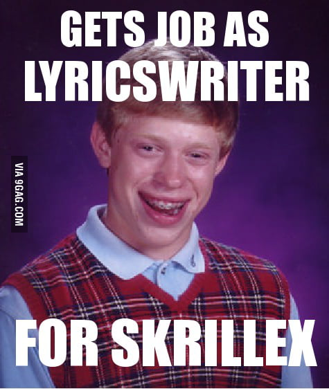 Bad Luck Brian finally gets a job