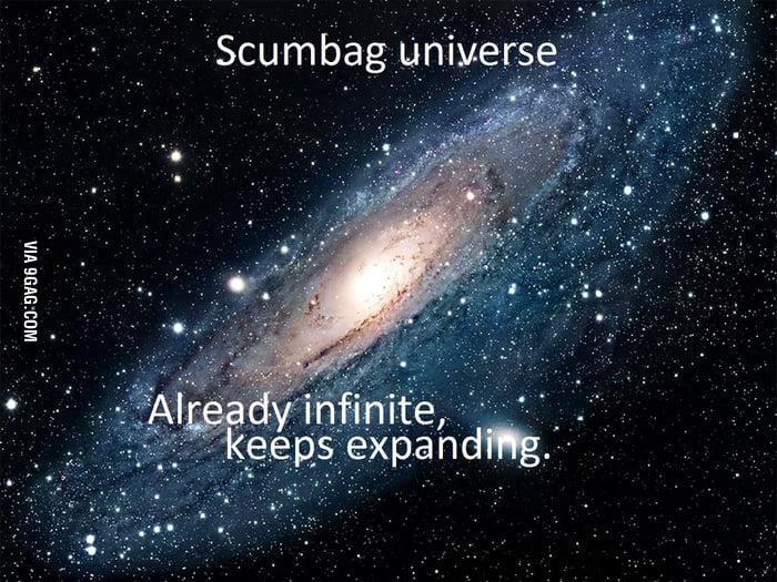 Scumbag universe