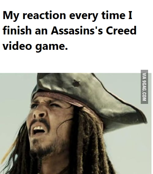 Every time I finish one of those games