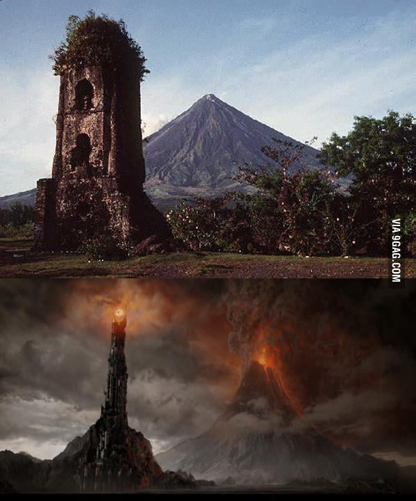It's just Mt. Mayon, oh wait...