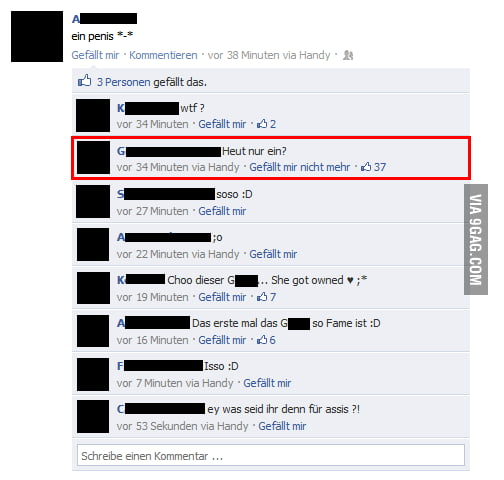 Facebook Fail [German]