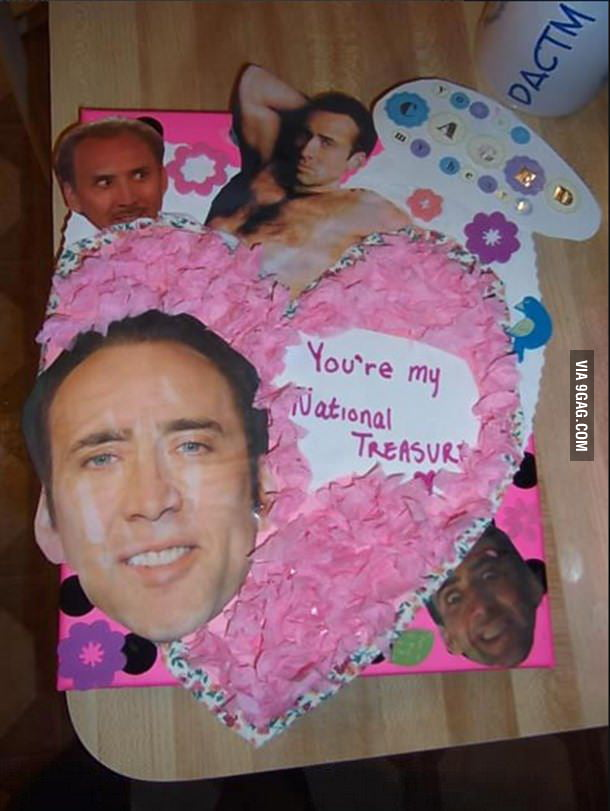 You're my national treasure