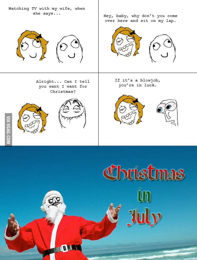 It's not true that Santa only comes once a year.