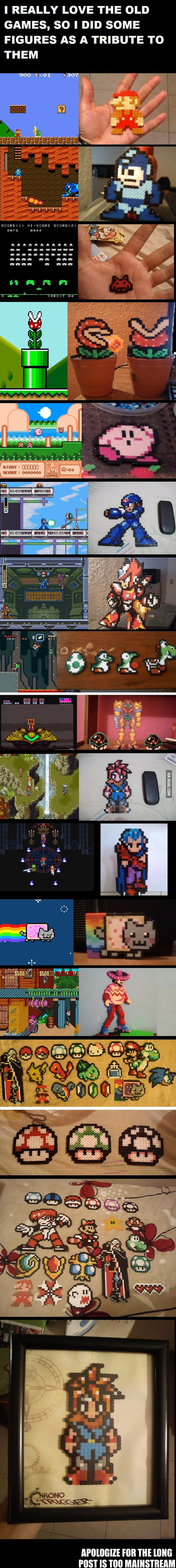 8bits to real life
