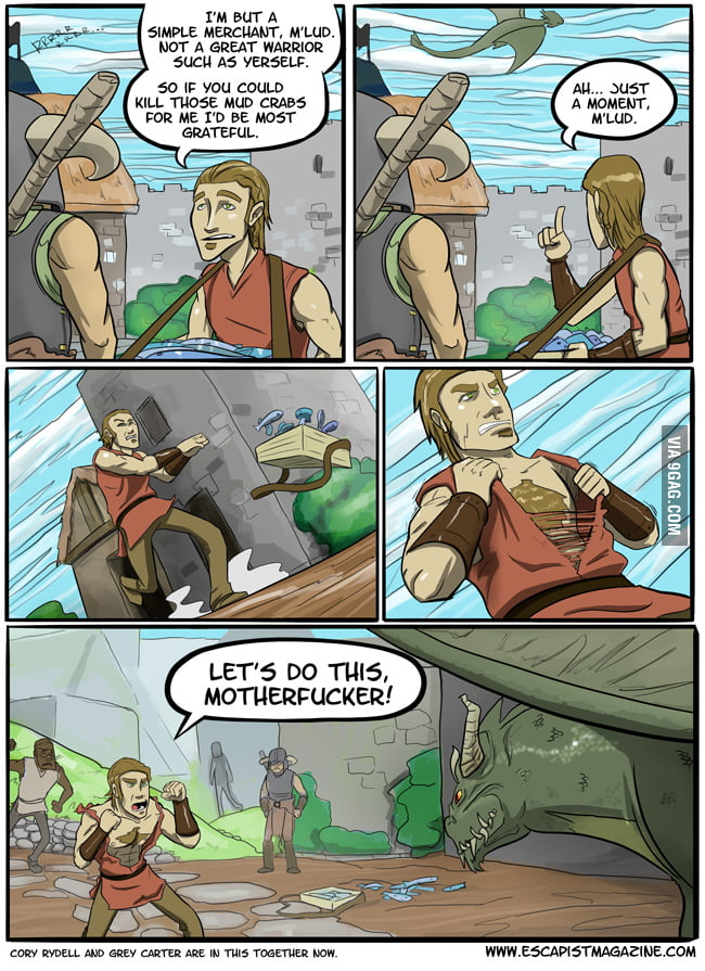 Skyrim Citizen Logic