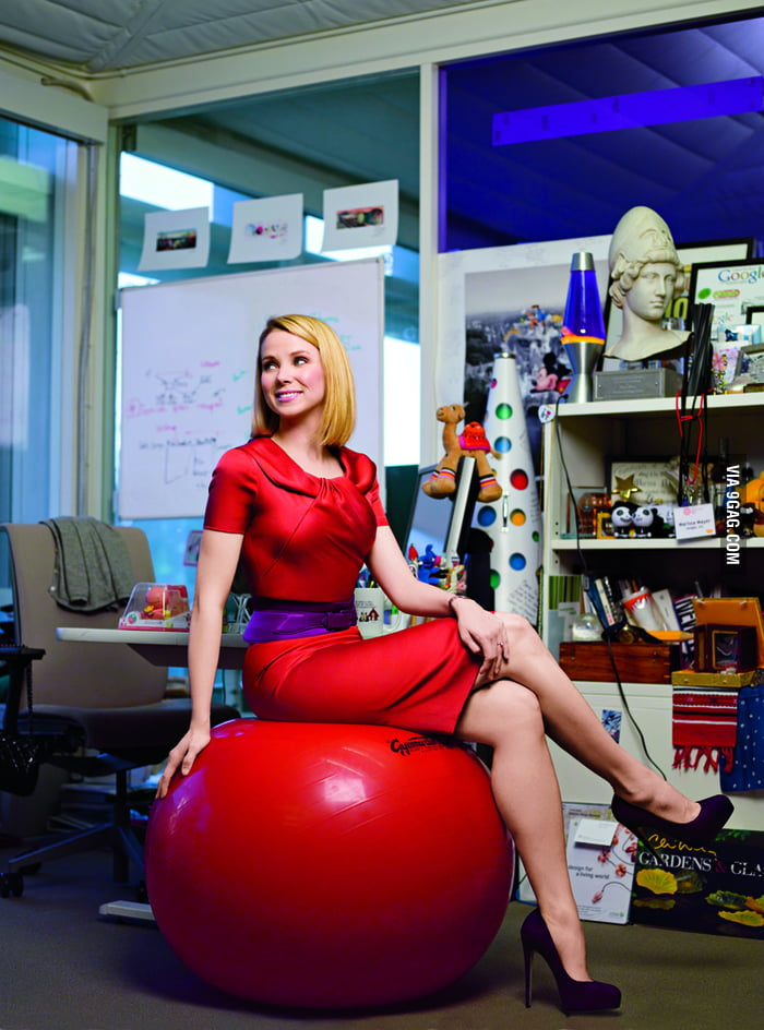 Yahoo now has the hottest CEO ever: Marissa Mayer