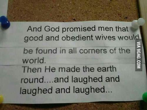 God has a good/bad sense of humor.
