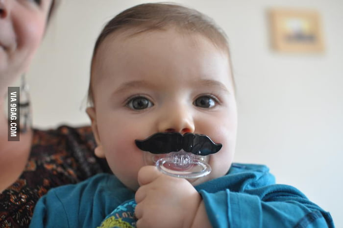 Being a baby like a Sir!