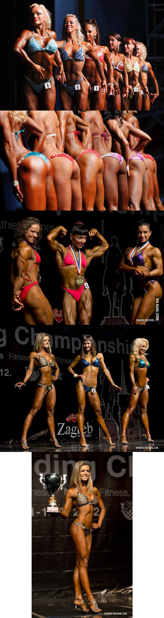 Winner of 2012 European Bodybuilding Championship