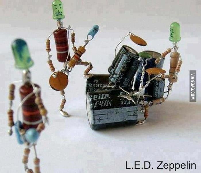 L.E.D Zeppelin