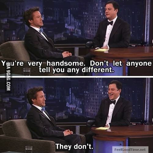 Awesome Robert Downey Jr. is awesome...