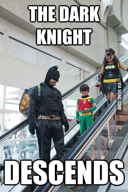 The Dark Knight Descends