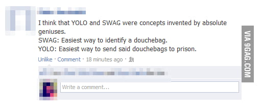 YOLO and SWAG
