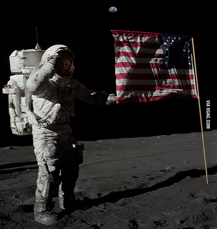 Three men landed on the Moon on this day in 1969. Salute!