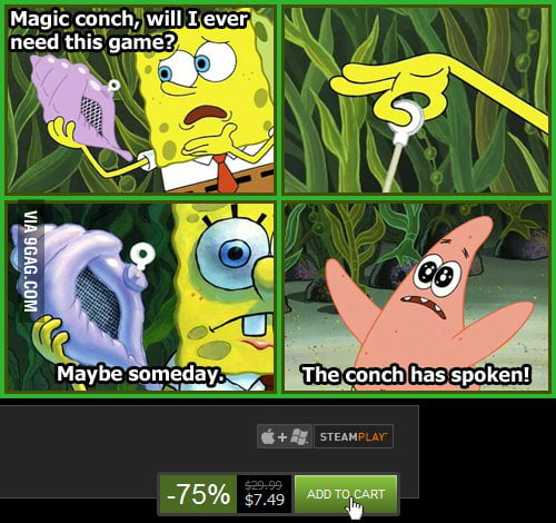 Magic conch do I need this game?