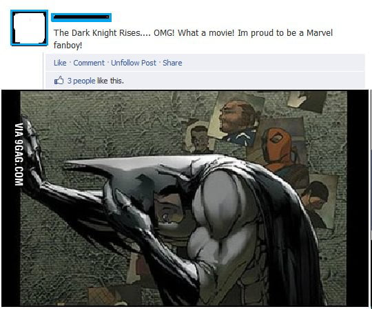 Dark Knight Facepalm